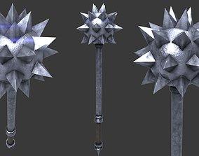 3D model Medieval MorningStar