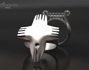 Writers original ring 3D print model