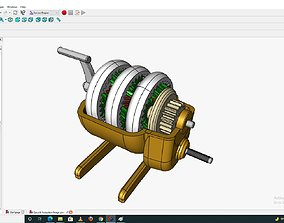 3D print model cogs Planetary gearbox