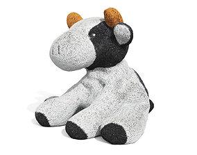 Toy Little Cow 3D model