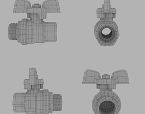 3D model Ball Valve plumbing