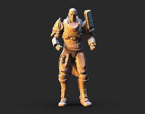 3D Destiny 2 Zavala