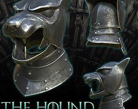 Game of Thrones Hound Helmet 3D printable model