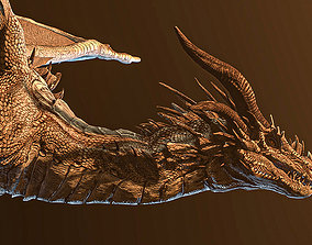 Dragon 3D animated creature