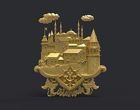 Istanbul theme scene 3D print model