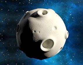 Cartoon Moon 3D model