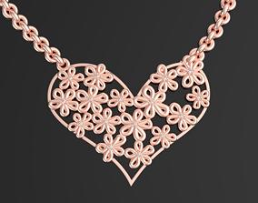3D print model heart pendant 3D print model ST VALENTINES