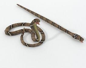 Cobra Snake 3D asset
