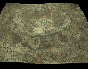 3D model Crater 1