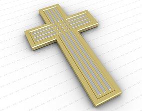 catholic 3D model game-ready Cross