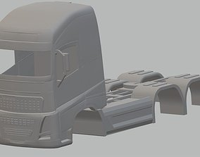 Volvo FH 16 Printable Body Truck