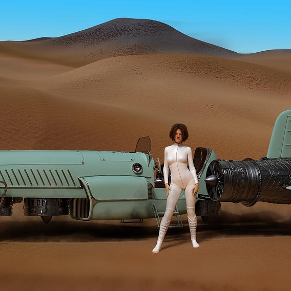 Winnetou -a retro-futuristic flyer
