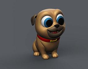 Puppy Pug 3D print model