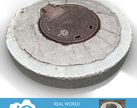 Sewer Lid A3 3D model