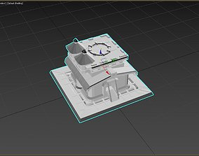 3D printable model Clash Of Clans Town Hall 10
