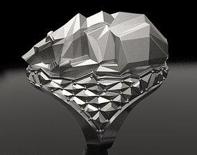 3D print model Frozen Ice bear ring - original