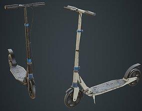 Kick Scooter 1B 3D asset