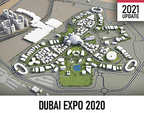 Dubai - Expo 2020 3D asset