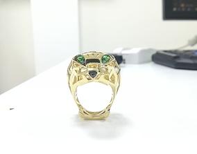 Pantera Cartier jewelery 3D print model