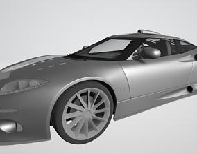 Spyker C8 Aileron Car 3D model