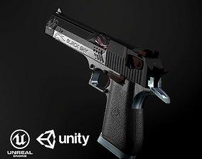 3D model Desert Eagle PBR