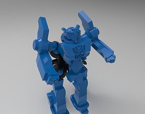 Transformers Robots in disguise from 3D print model 1