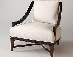 3D Baker Nob Hill Lounge Chair
