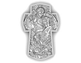 3D print model PENDANT Archangel Michael jewerly