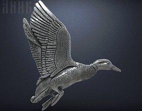 3D print model Wild duck badge