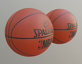 basket ball with pbr textures 3D model