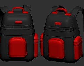 backpack high poly sculpt 3d printable ver 7 3D model 2
