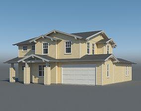 Family House 001 3D model