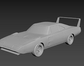 3D printable model Dodge Charger Daytona 1969