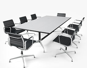Meeting Room Furniture 01 3D