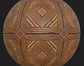 3D model PBR Wooden floor