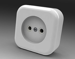 Power socket mk 3 power 3D