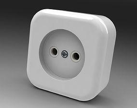 Power socket mk 3 power 3D