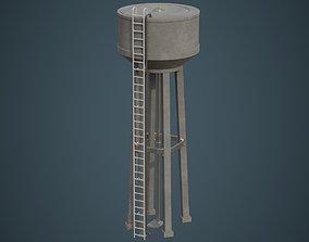 Water Tank 2A 3D asset