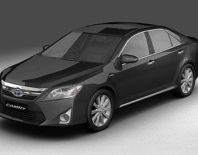 3D 2012 Toyota Camry Hybrid Asian