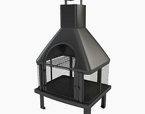3D model Outdoor Firehouse