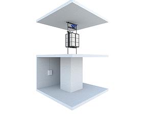 3D Industrial lift Portal LC Partner 3