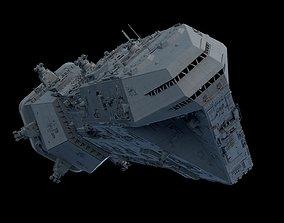 Star Wars Lancer Spaceship 3D