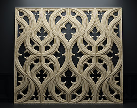 Paneling belonging to Carlisle Cathedral 1842 V3 3D model