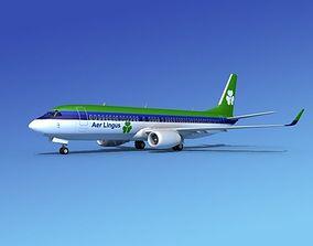 3D Boeing 737-800 Aer Lingus