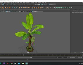 Bananatree 3D model
