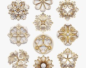 Decorative Wall Rosettes model
