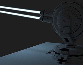 3D model Lazer Turret
