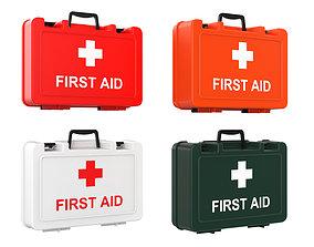 firetruck First Aid Kit 3D