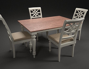 Dining Table 3D model low-poly