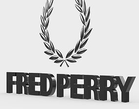 3D fred perry logo